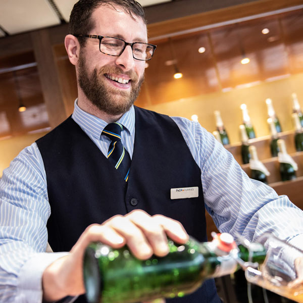 Find out more about P&O Ferries onboard service