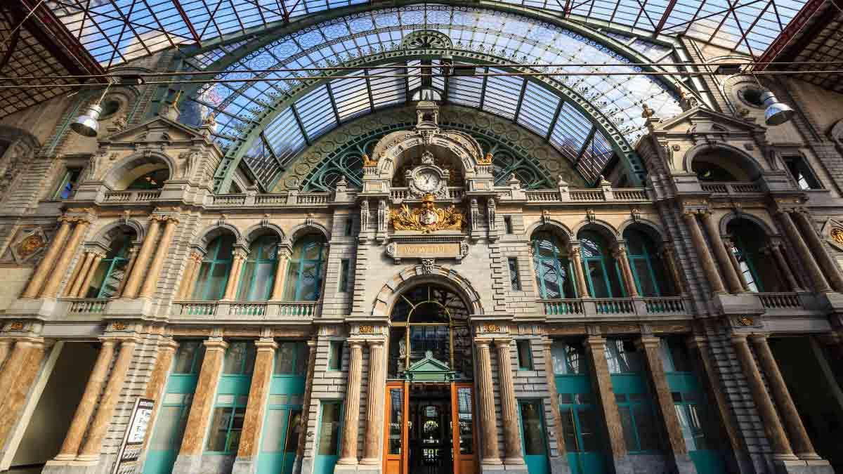 Grand Central Station Antwerp