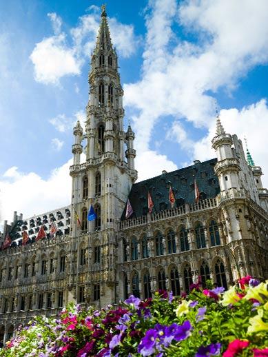 Brussels Grand Square in Belgium