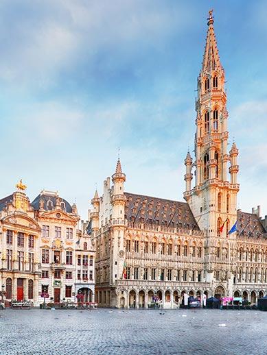 Brussels Grand Place in Belgium
