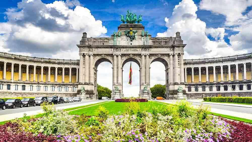 Parc de Cinquantennaire in Brussels