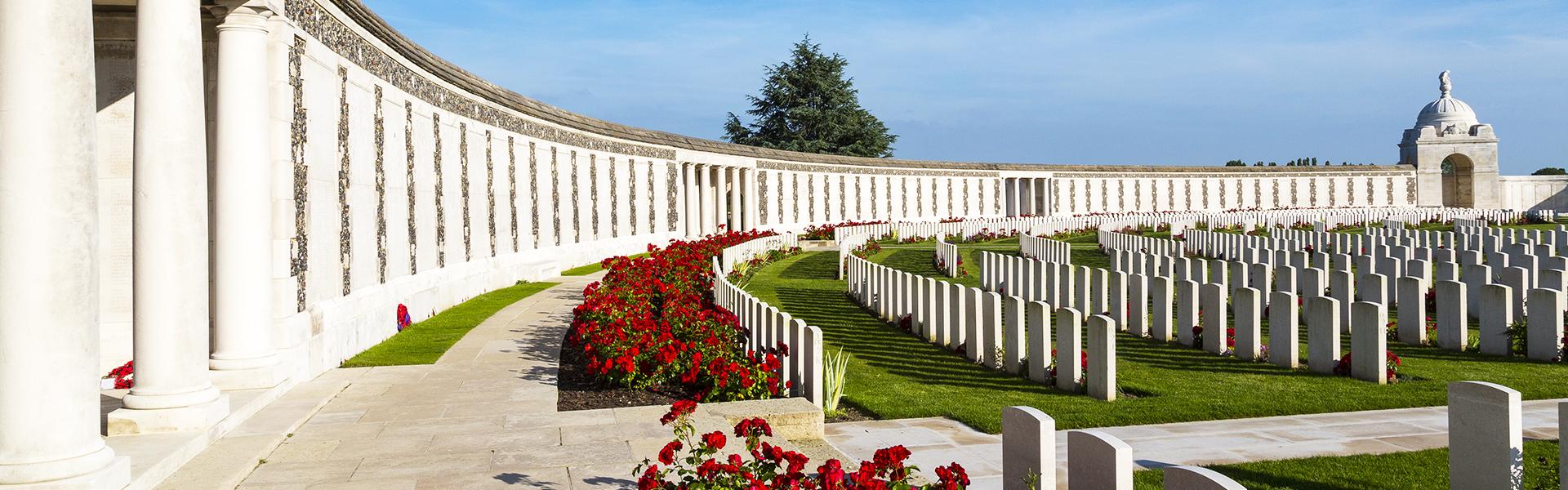 Tyne Cot Cemetery in Flanders Fields