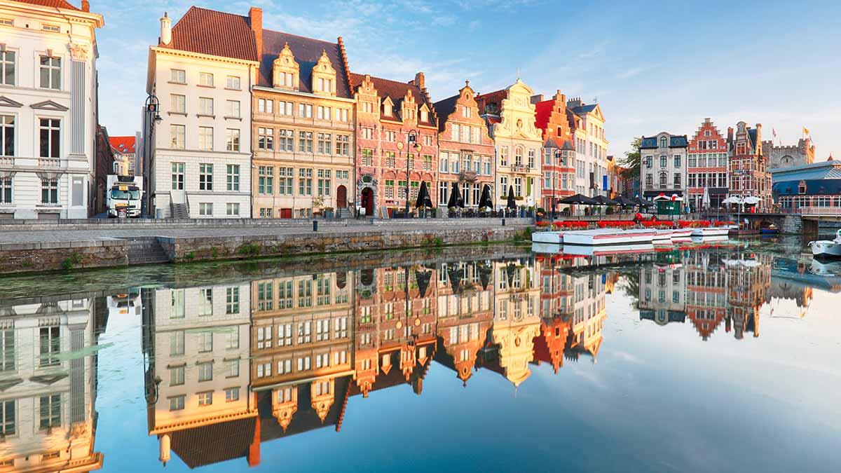 Ghent in Flanders Belgium