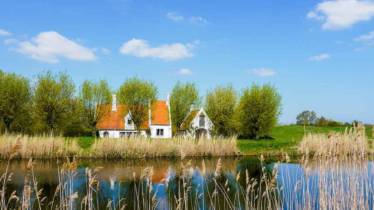 West Flanders in Belgium