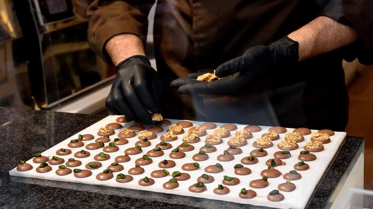 Chocolate Chef in Ghent Belgium