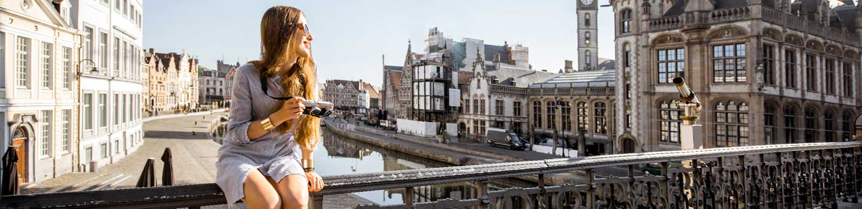 City of Ghent in Belgium