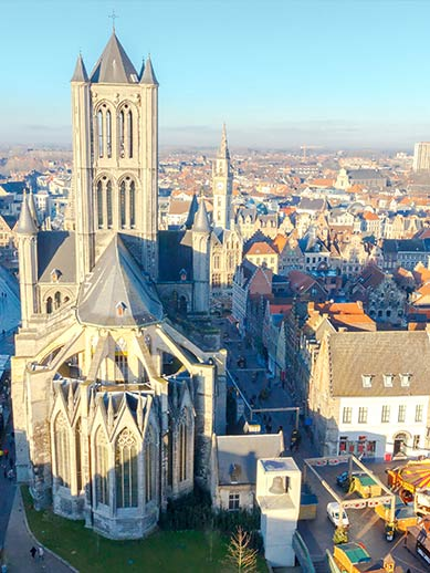 St Bavo Cathedral in Ghent