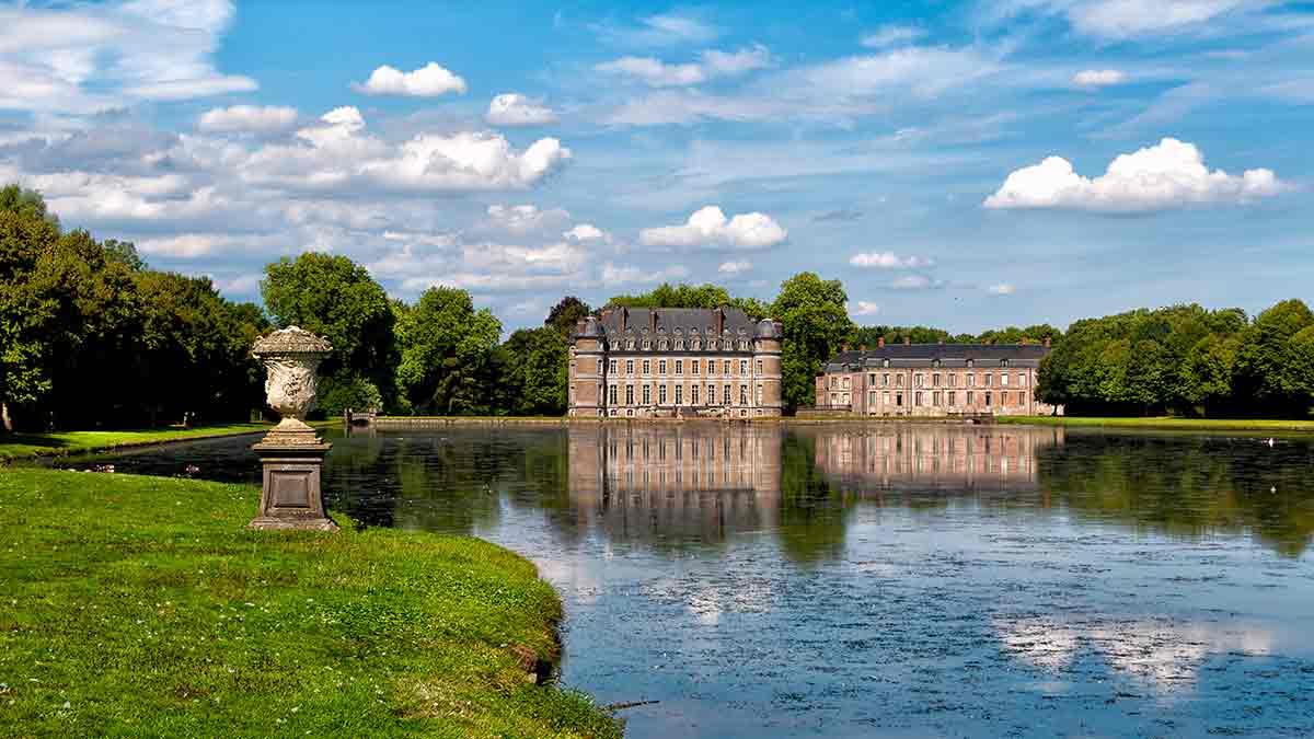 Beloeil Castle Grounds in Belgium