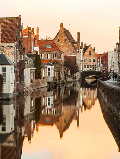 Romantic trip to Bruges in Winter