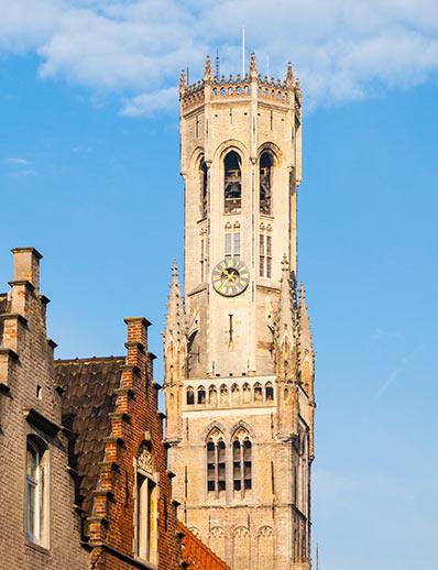 The Belfry of Bruges - UNESCO World Heritage Site in Belgium