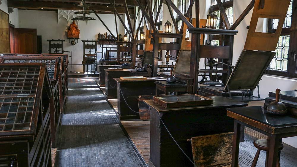 Printing Room Presses in Antwerp