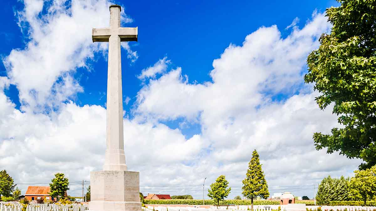 War Memorial in Ypres, Belgium