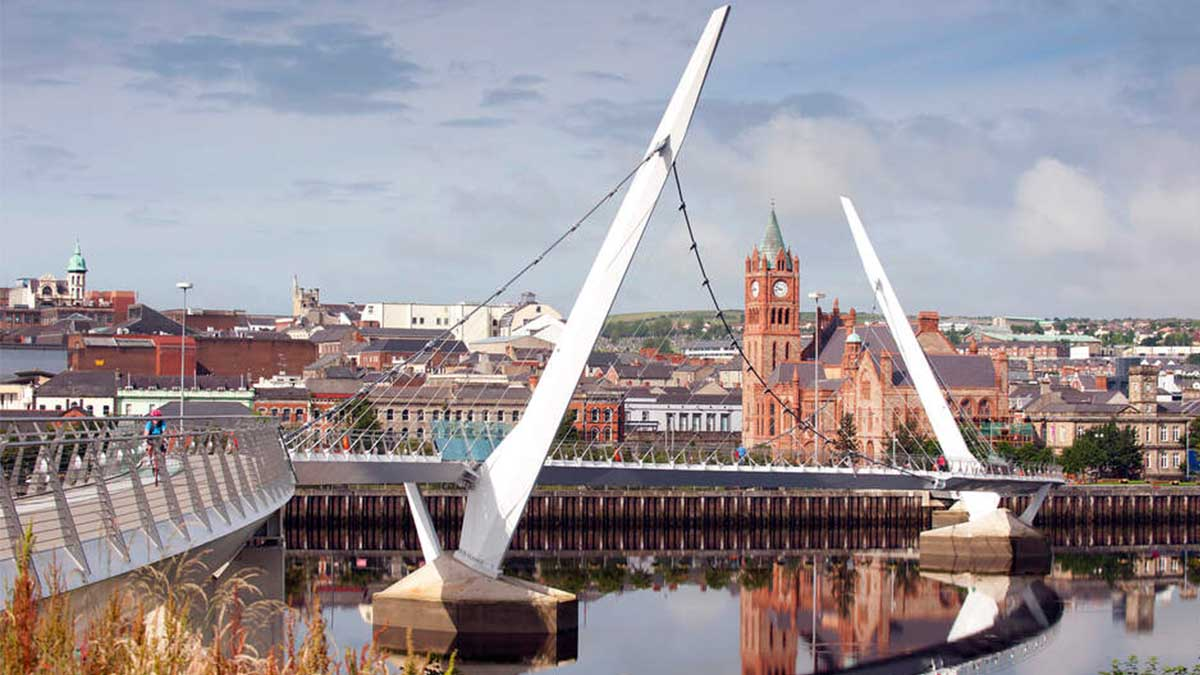 Visit Derry Londonderry with P&O Ferries
