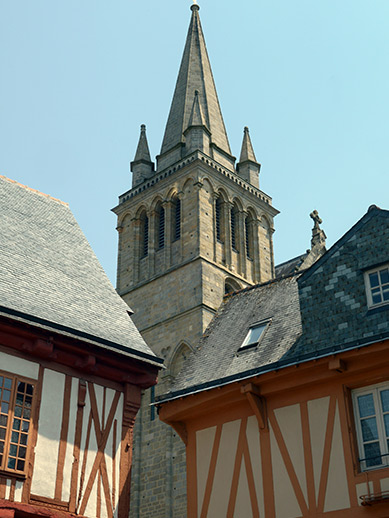 City of Vannes in Brittany, France