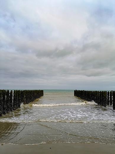 Beach in Calais