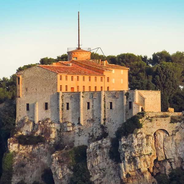 Fort Royal in Sainte Marguerite Island