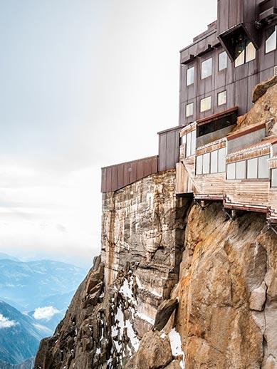 Aiguille Du Midi Viewing Terrace