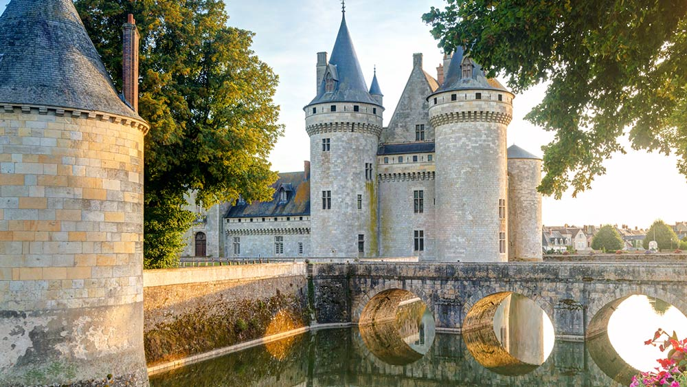 Chateaux in Loire Valley, France