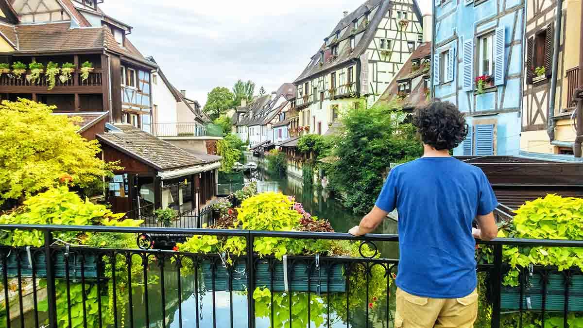 Bridge in Colmar Old Town, France