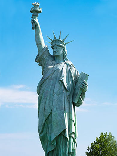 Statue of Liberty in Colmar, France