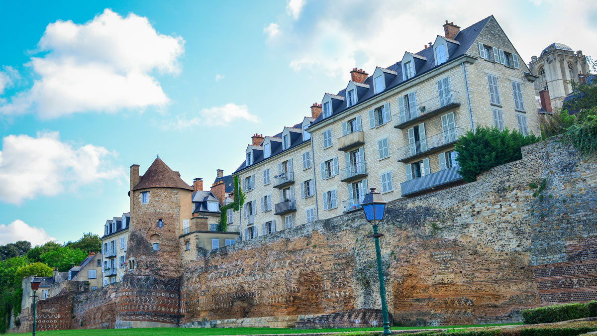 Town wall in Le Mans