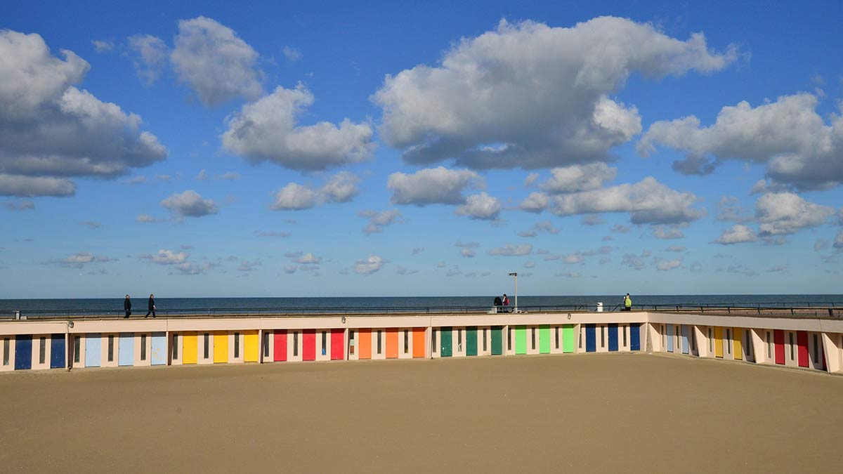 Beach huts in Le Touquet