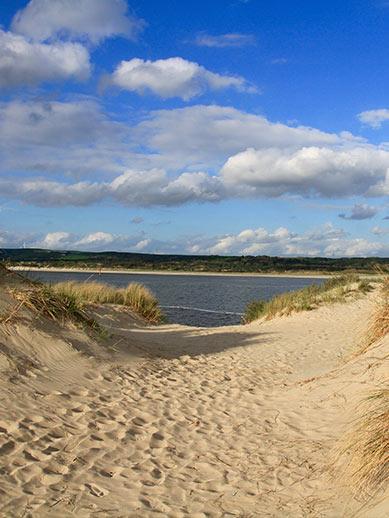 Beach Le Touquet in France