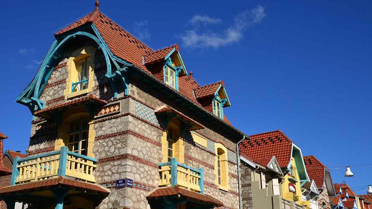 Le Touquet architecture in France