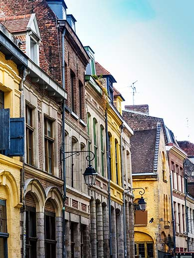 Architecture in Lille Old Town