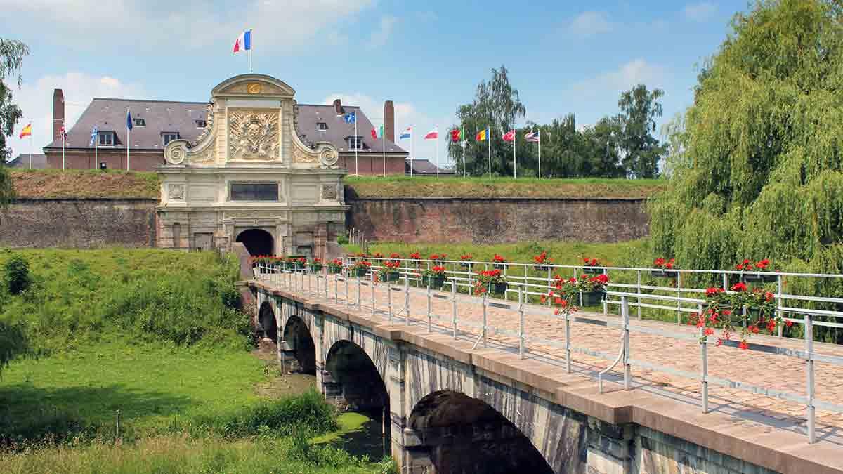 Lille Citadel in France