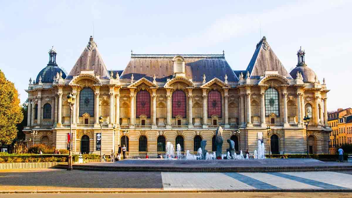 Palais de Baeux Arts in Lille