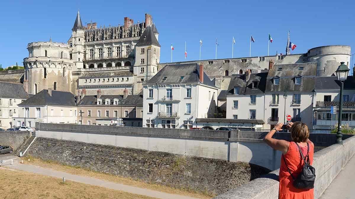 Loire Valley Castle in Amboise