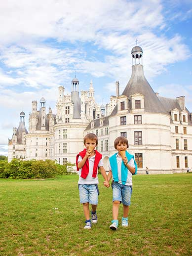 Chateau Chambord in Loire Valley