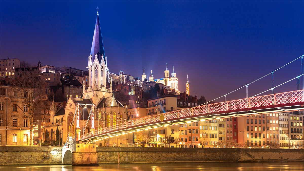 Church in Lyon, France