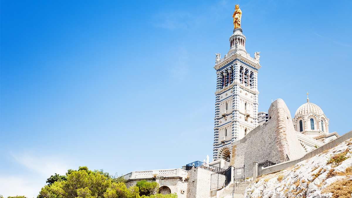 Bascilica Notre Dame in Marseille, France