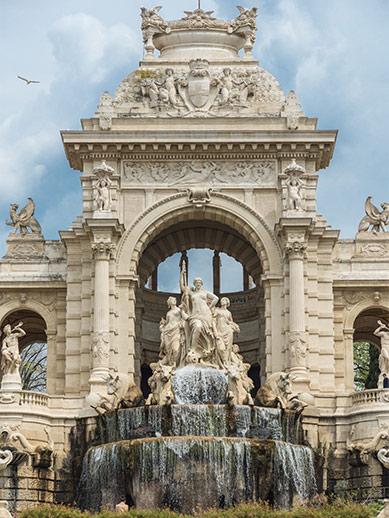 Parc Longchamp in Marseille