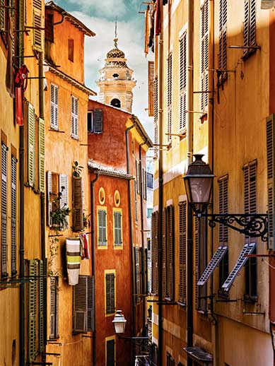 Explore Nice Old Town in France