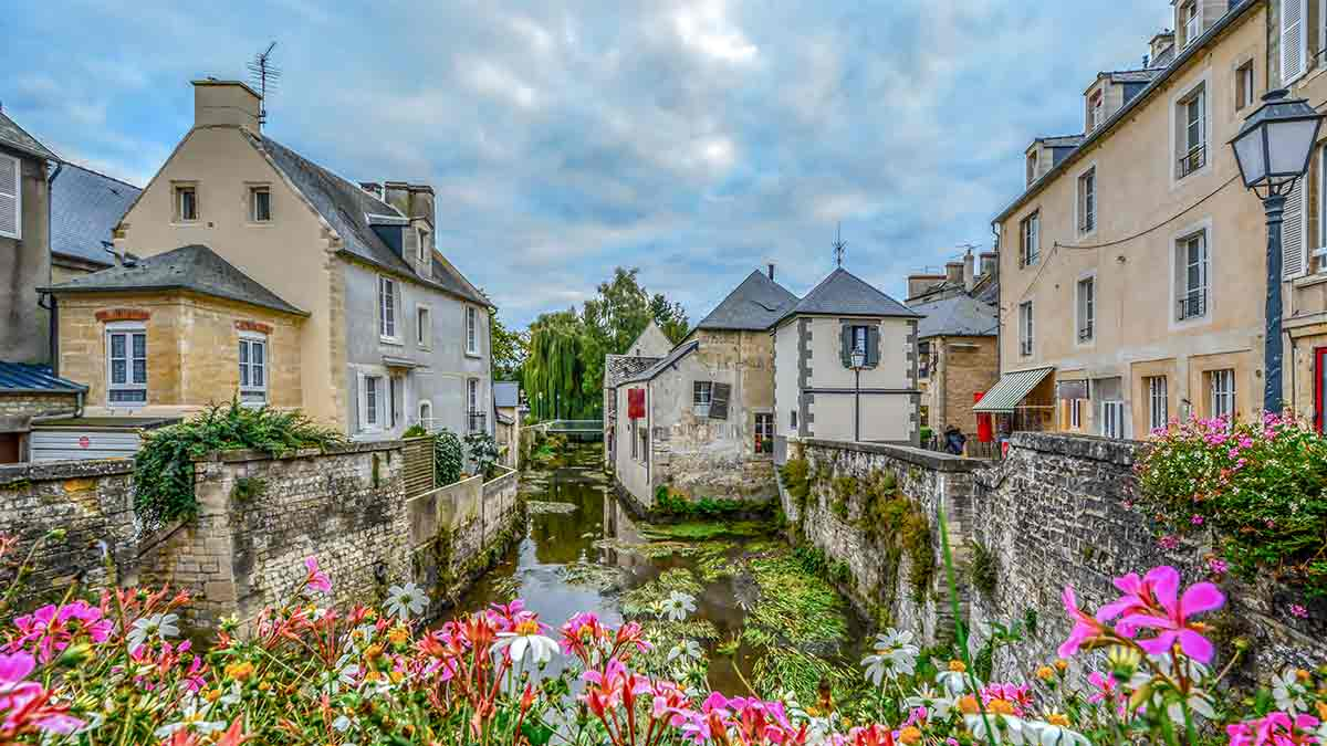 Bayeux in Normandy, France