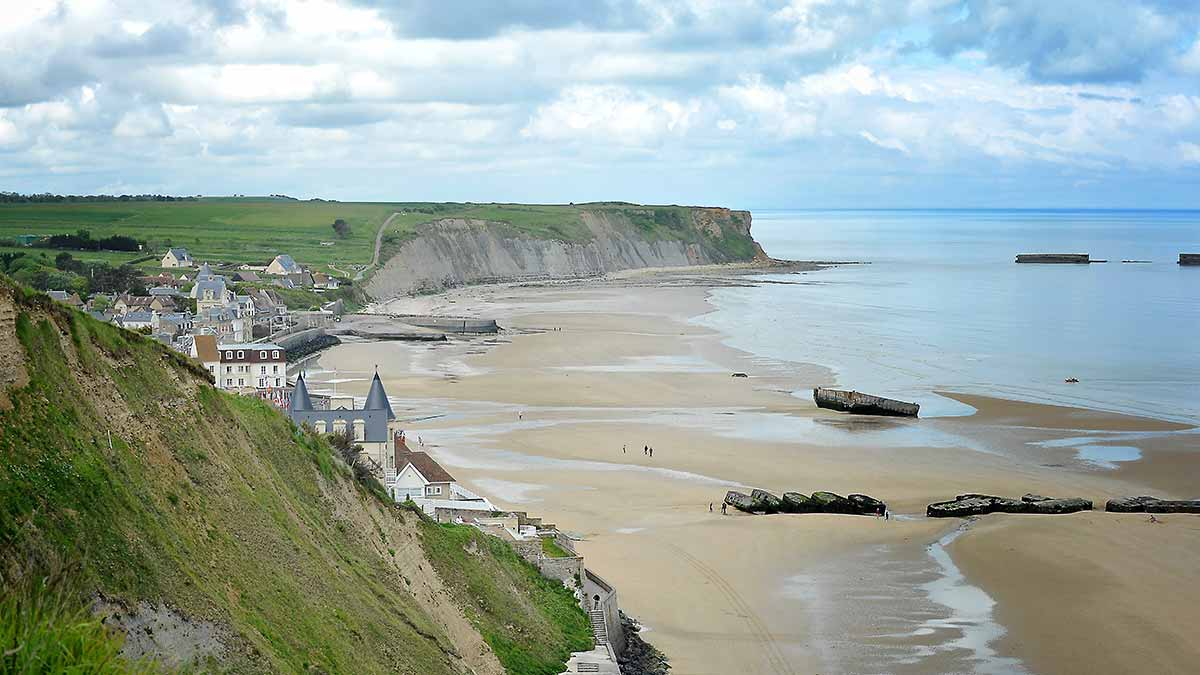 D-Day Normandy landing in France