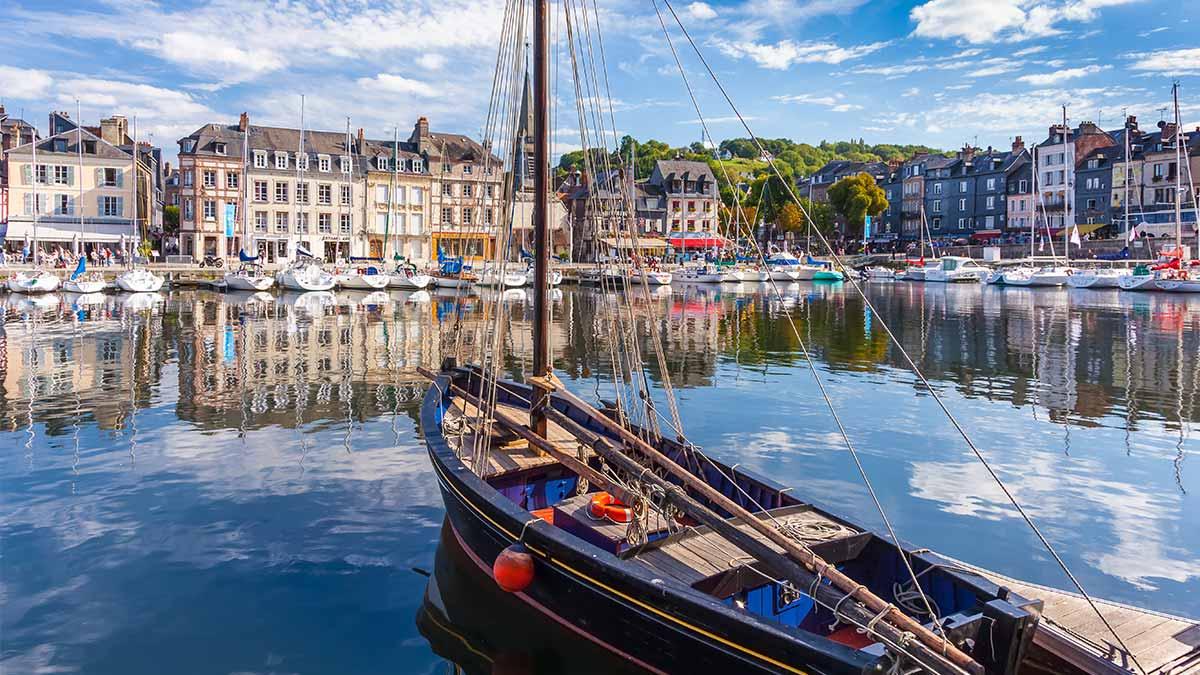 Honfleur in Normandy, France