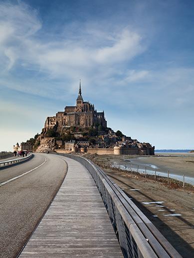 Mont Saint Michel in Normandy