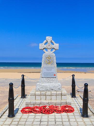 Normandy Landing Navy Memorial