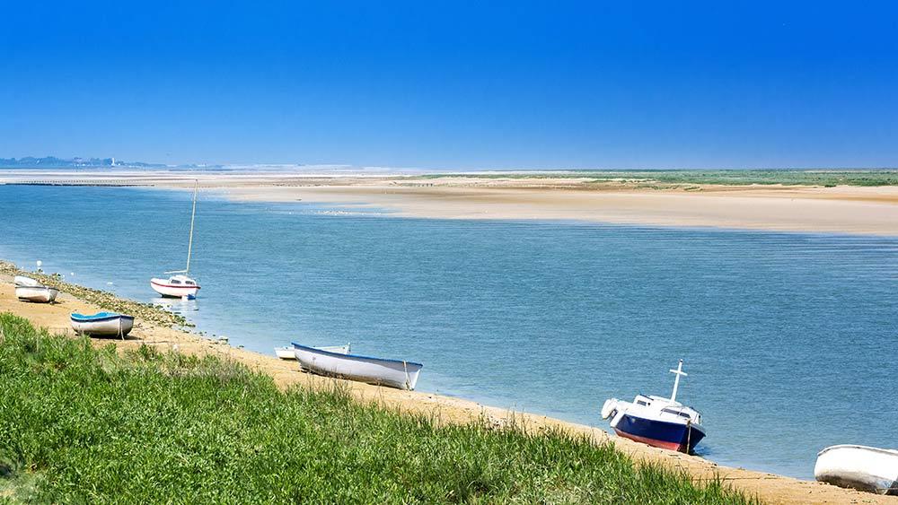 Bay of Somme in Frnace