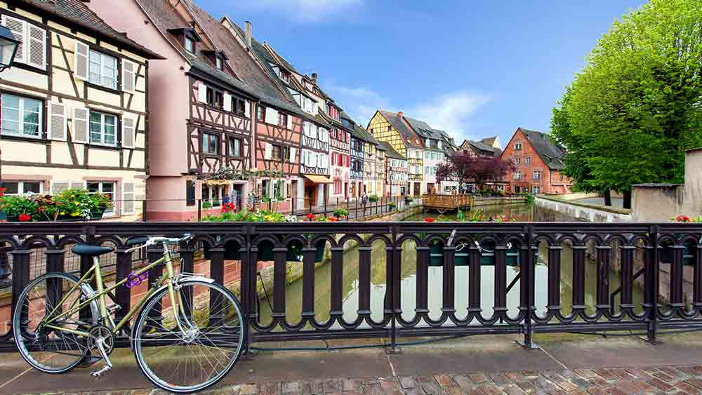 Traditional houses in Strasbourg