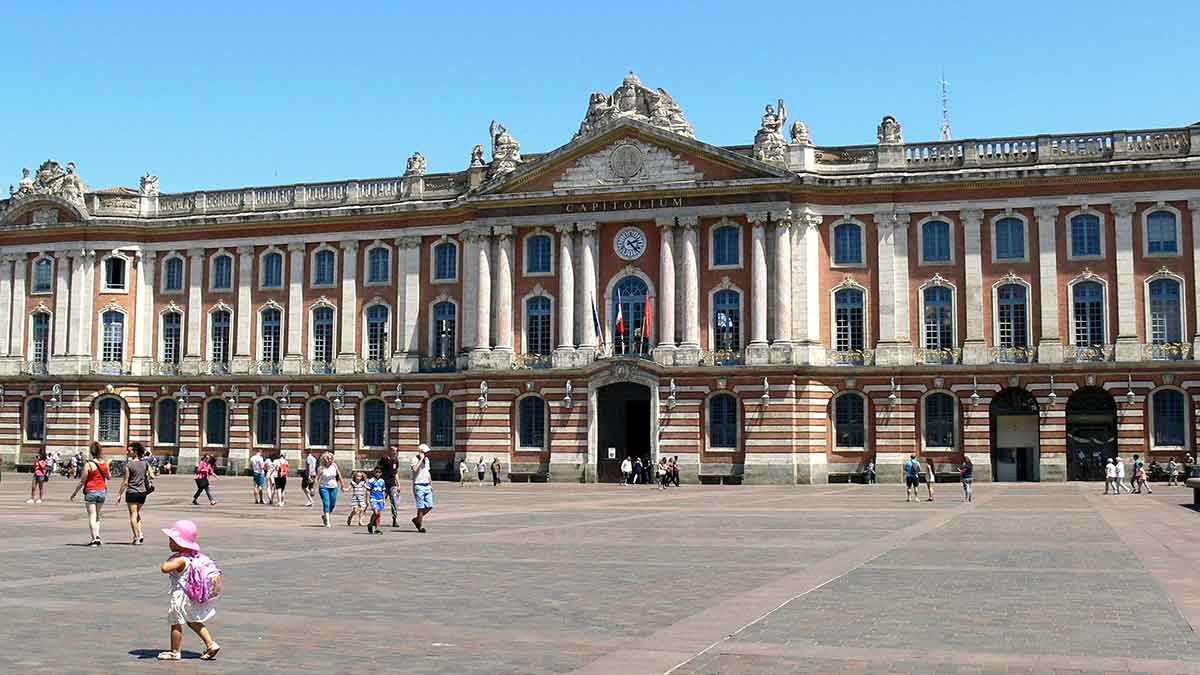 Capital Square in Toulouse, France
