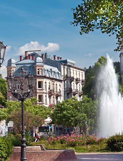 Baden-Baden - Spa town in the Black Forest