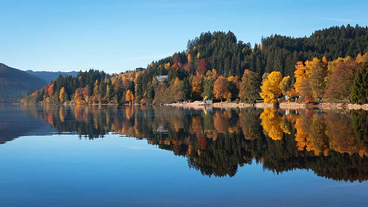 Lake Titisee in Autumn