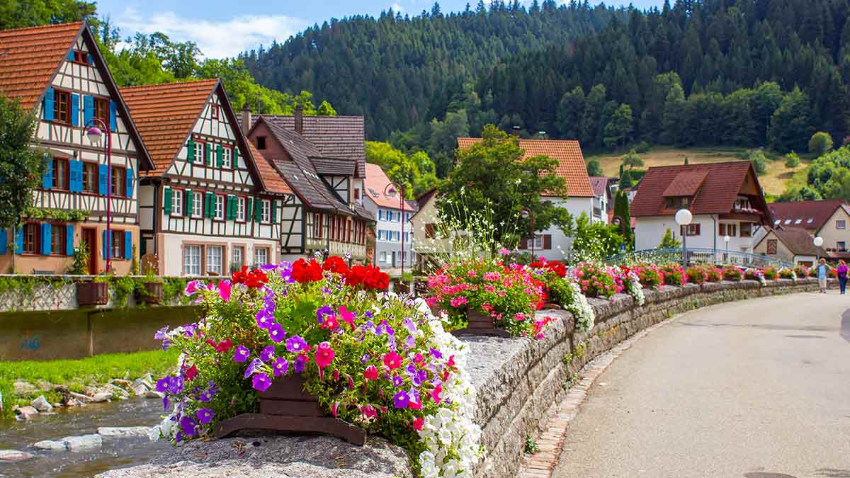 Schilitach in Black Forest, Germany