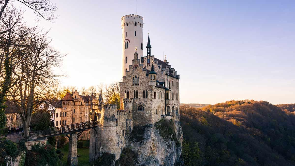 Schloss Lichenstein Castle in Germany's Black Forest