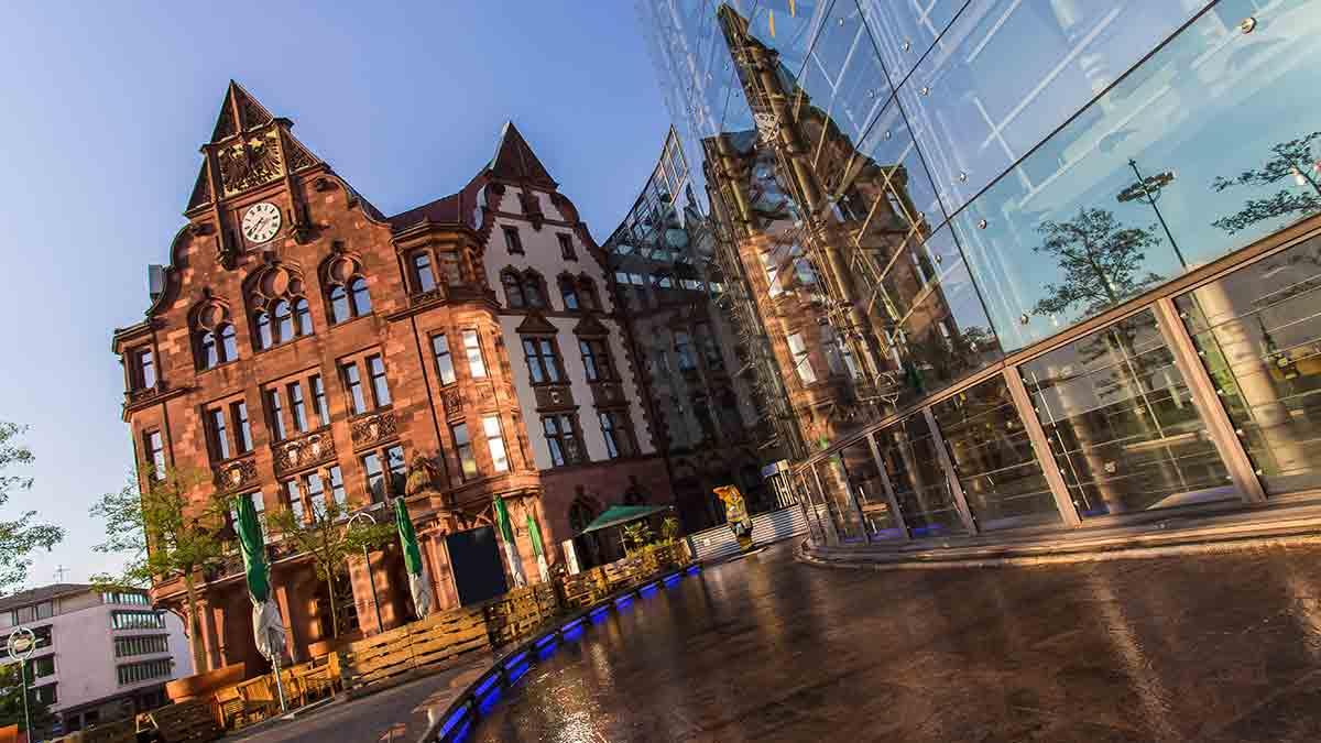 Dortmund city hall in Germany